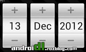 شمارش معکوس Countdown Widget